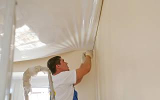 Как демонтировать натяжной потолок своими руками