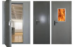 Технология изготовления противопожарных алюминиевых дверей