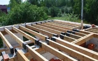 Как сделать потолок в доме из газобетона