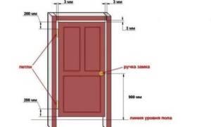 Как уменьшить зазор между дверью и полом
