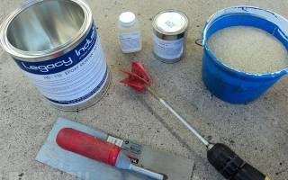 Герметик для заделки трещин в кирпичной стене