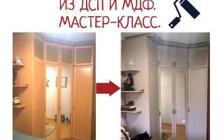 Как покрасить ламинированную мебель в другой цвет