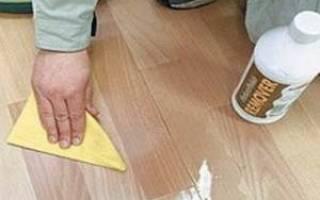 Как обновить линолеум в домашних условиях