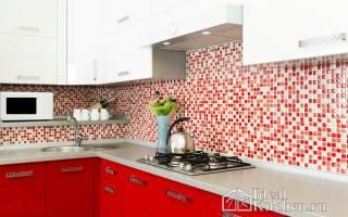 Как скомбинировать мозаику и плитку на кухне