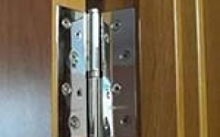Как вырезать углубление для петель двери