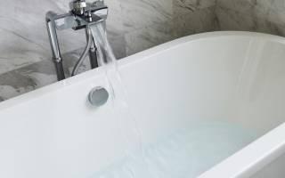 Скол на эмалированной ванне что делать