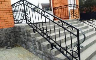 Железные перила для лестниц своими руками
