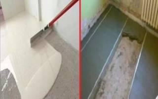 Можно ли использовать наливной пол вместо стяжки