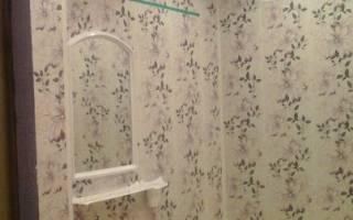 Как правильно отделать ванную комнату пластиковыми панелями