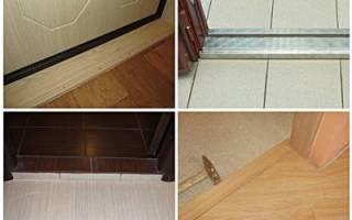 Как сделать порог входной двери на улице