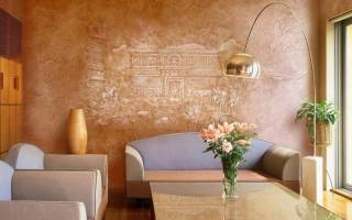 Как покрыть стены декоративной штукатуркой своими руками