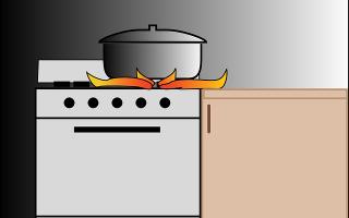 Что проложить между газовой плитой и мебелью