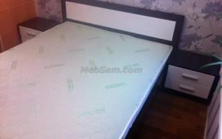 Расчет кровати под матрас