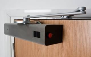 Электродоводчики входных дверей