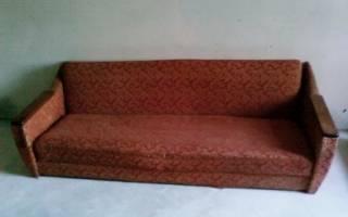 Как перетянуть диван своими силами