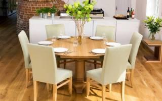 Какая стандартная высота кухонного стола