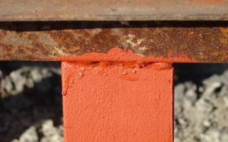Как правильно покрасить ржавый металл