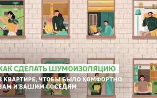 Шумоизоляция стены в квартире какие материалы выбрать