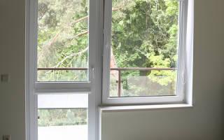 Балконные двери металлопластиковые полностью со стеклом