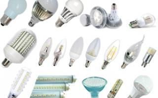 Разновидности светодиодных ламп для люстр