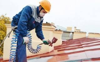 Как покрасить оцинкованное железо в домашних условиях