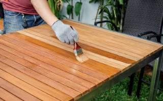 Как покрасить старый стол своими руками