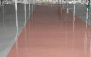 Акриловая краска по бетону для пола износостойкая