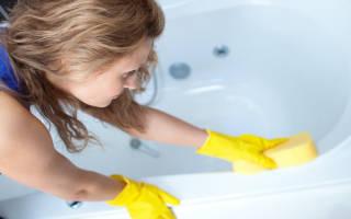Можно ли чистить акриловую ванну доместосом