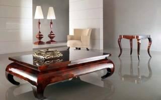 Как снять старый лак с деревянной мебели