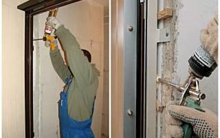 Просела входная металлическая дверь что делать