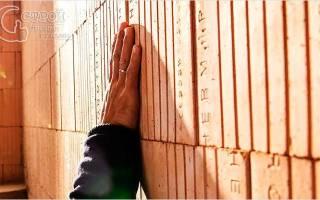 Технология кладки стен из керамических блоков
