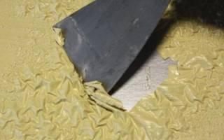 Как очистить железо от старой краски