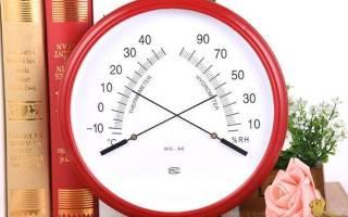 Бытовой гигрометр для квартиры