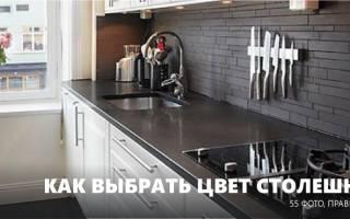 Белая столешница на кухню практичность
