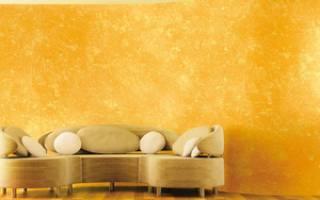 Декоративная покраска стен дешево но красиво