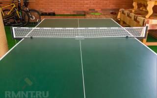 Изготовление теннисного стола своими руками