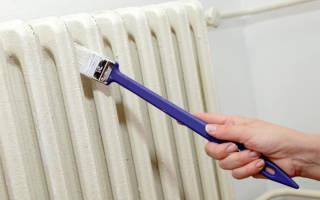 Краска для чугунных батарей отопления без запаха