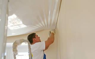 На каком этапе ремонта устанавливают натяжные потолки
