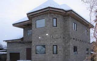 Отделка дома из керамзитобетонных блоков снаружи
