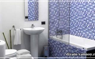 Облицовка ванны мозаикой изнутри