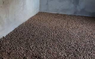 Сколько нужно керамзита на 1м2 для стяжки