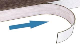 Как приклеить мебельную кромку утюгом