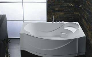 Установка акриловой ванны без каркаса своими руками