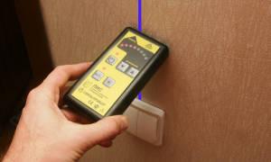 Инструмент для определения проводки в стене