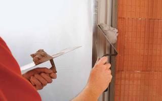Когда можно штукатурить стены после кладки