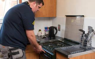 Как правильно установить газовую плиту на кухне
