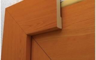 Как правильно ставить наличники на межкомнатную дверь