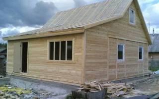 Как дранковать стены в деревянном доме
