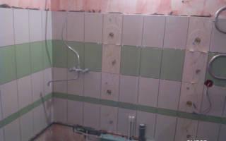 Как высчитать площадь ванной комнаты под плитку
