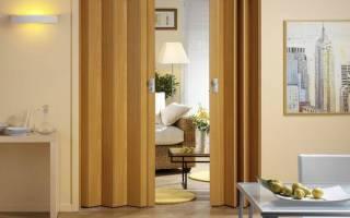 Сборка двери гармошка пошаговая инструкция